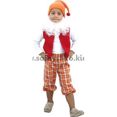 Карнавальный костюм Гном №3