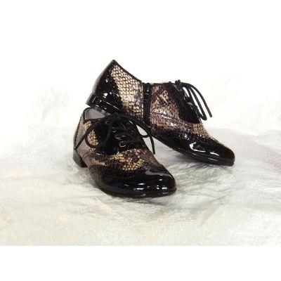 Туфли для девочки черные 020-5Т