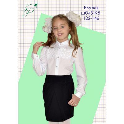 Блуза школьная для девочки 3195