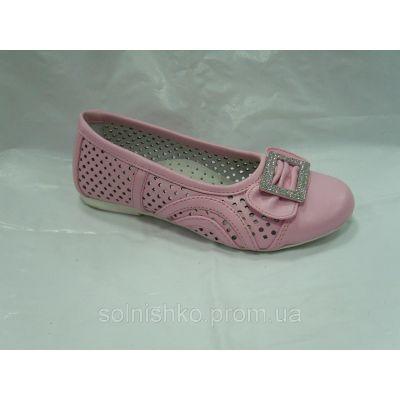 Туфли летние для девочки 12463