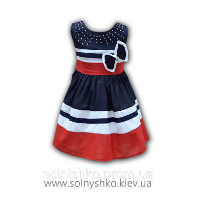Платье для девочки от 3 до 5 лет арт.5109