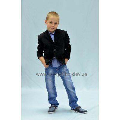 Пиджак школьный для мальчика 122-13