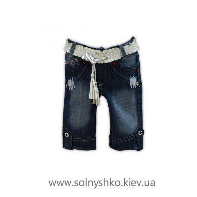 Бермуды Бриджи джинсовые 254