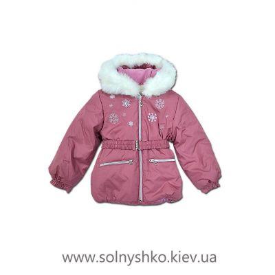 Куртка зимняя для девочки 422