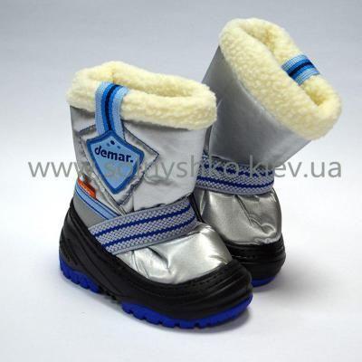 Cапоги зимние - дутики - сноубутсы для детей  Demar Toby 4031а