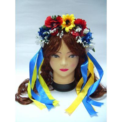 Веночек для девочки Цветы Украины ТМ Sonechko