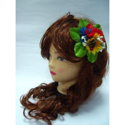 Заколка на волосы Цветы ТМ Sonechko