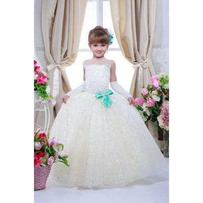 Нарядное платье для девочки 7703