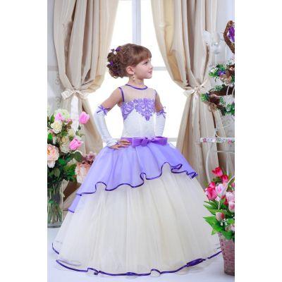 Нарядное платье для девочки 7708