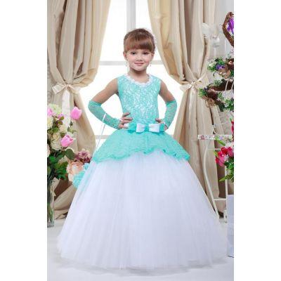 Нарядное платье для девочки 7710