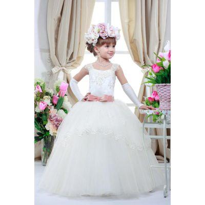 Нарядное платье для девочки 7721
