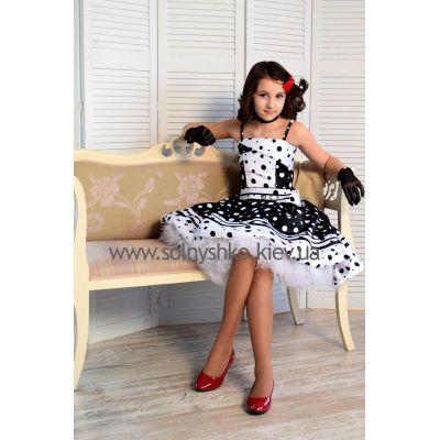 Нарядное платье для девочки Стиляги-006