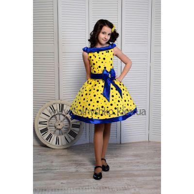 Нарядное платье для девочки Стиляги - 009