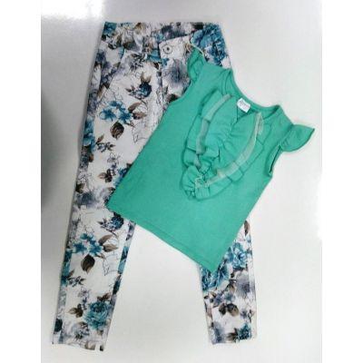 Джинсы - брюки для девочки 1055 Glostory