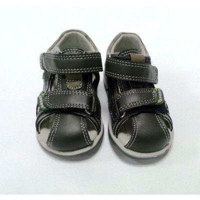 Босоножки - сандалии для мальчика хаки C-T60-32