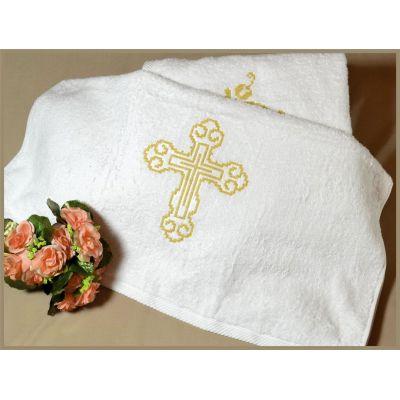 Крыжма полотенце для крещения 1-0