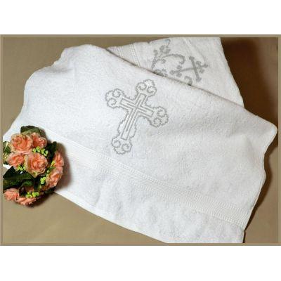 Крыжма полотенце для крещения 40-01(2).