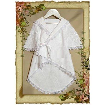 Рубашечка-халатик для крещения №41-08(2)