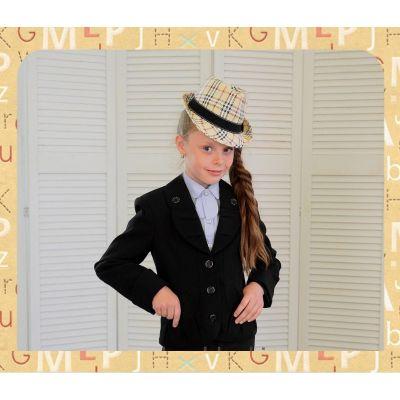 Костюм - тройка школьный для девочки Джулия Lakshmi Mix чёрный