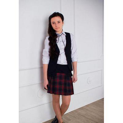 Жилет школьный для девочки 14-1670