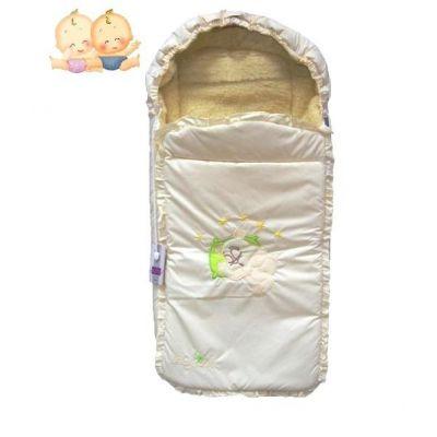 Конверт на овчине для малыша 15-15