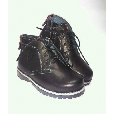Ботинки Макс черные ТМ MAXUS