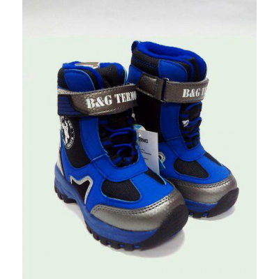 Термо ботинки - сапоги зимние детские B&G 165-207