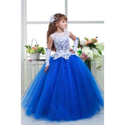 Нарядное платье для девочки 8712