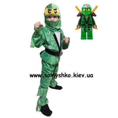 Карнавальный костюм для мальчика Ниндзяго Ллойд ЭКСКЛЮЗИВ