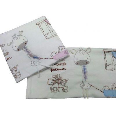 Плед для новорожденного Жираф 9-08