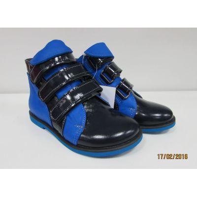 Ботинки ортопедические 713 синий ТМ KODO