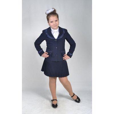 Костюм - тройка школьный для девочки М-4 Lakshmi Mix черный