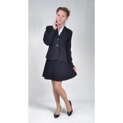 Костюм - тройка школьный для девочки Маргарет Lakshmi Mix синий