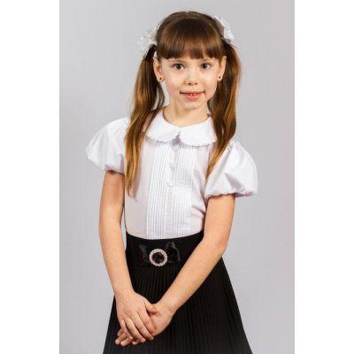 Блуза школьная для девочки 130 ТМ Малена
