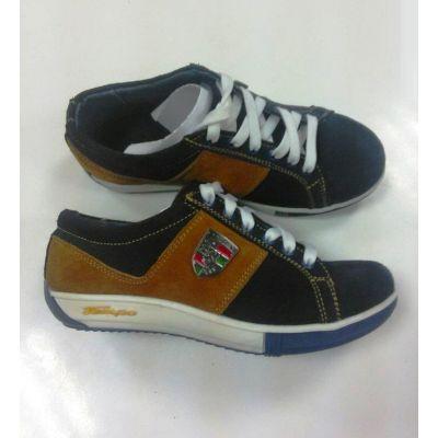 Туфли для мальчика КП-101 синий + рыжий