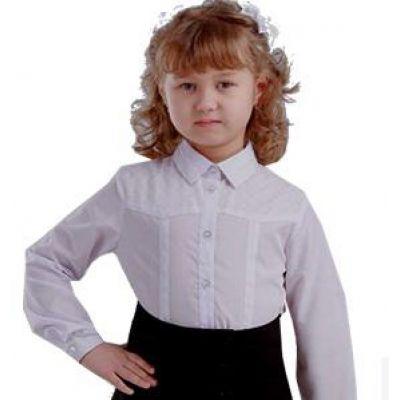 Блуза школьная для девочки Эмили ТМ Помателье