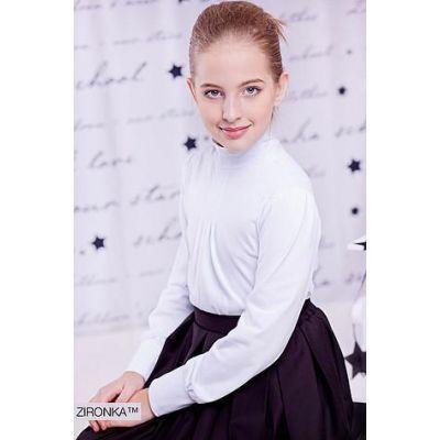 Блуза школьная для девочки 3586-1