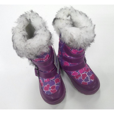 Зимние сапоги - Термо сапоги для девочки B&G 132-22