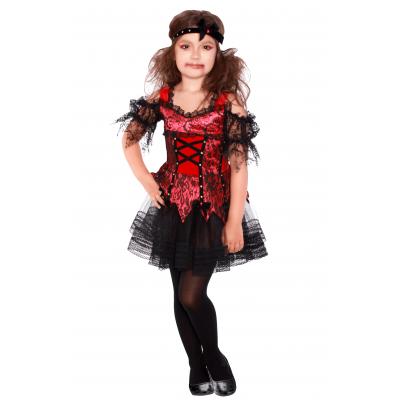 Карнавальный костюм Вампирши для девочки 2087