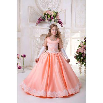 Нарядное платье для девочки 9733
