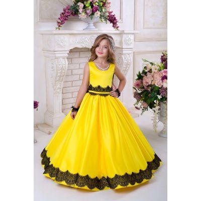 Нарядное платье для девочки 9731