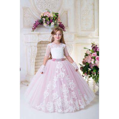 Нарядное платье для девочки 9730