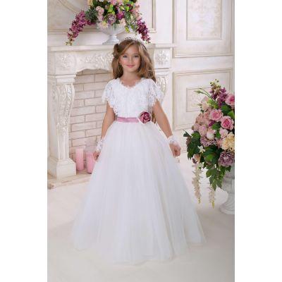 Нарядное платье для девочки 9729