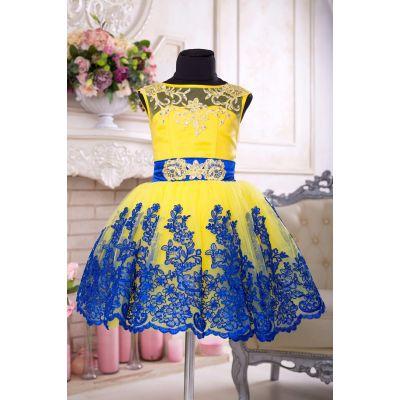 Нарядное бальное платье для девочки 9701