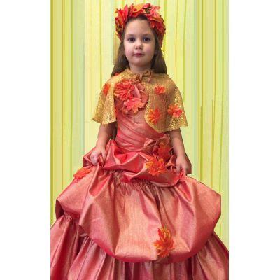 Карнавальный костюм для девочки Королева Осень