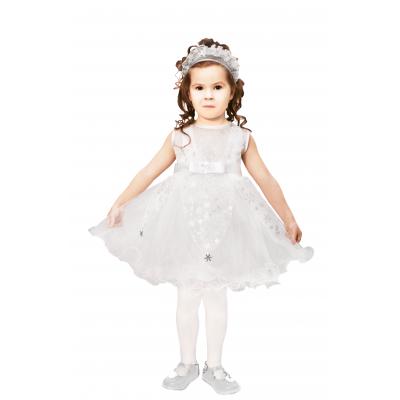 Карнавальный костюм для девочки Снежинка 9134