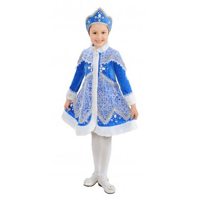 Карнавальный костюм для девочки Снегурочка 199