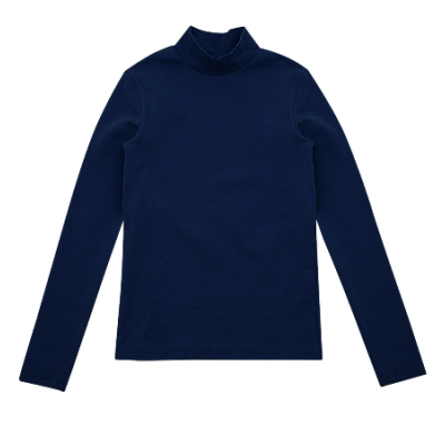 Гольф темно-синий стойка 114589 утеплённый
