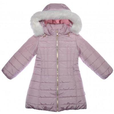 Пальто зимнее для девочки Сирень 100001-36 ТМ Garden Baby