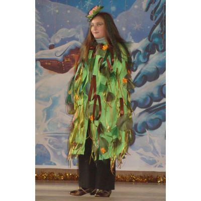 Карнавальный костюм - Плащ Весна, Лесная фея, Кикимора, Леший прокат